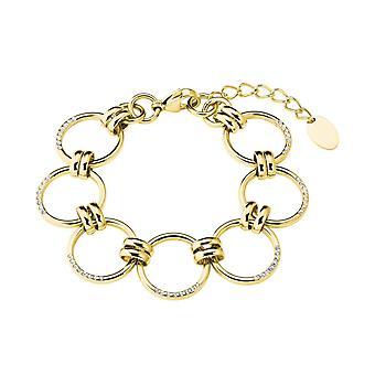 s.Oliver Jewel Women's Bracelet Bracelet Stainless Steel IP GOLD 2027627