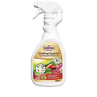 SUBSTRAL® Natural® Pest Stop 4in1 Spray, 750 ml