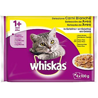 Whiskas 4Pack 1+ Selección de Aves (Cats , Cat Food , Wet Food)
