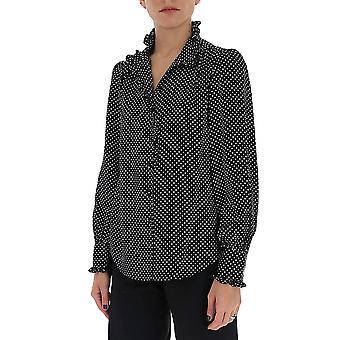 Marc Jacobs W6000005001 Women's Black Cotton Shirt