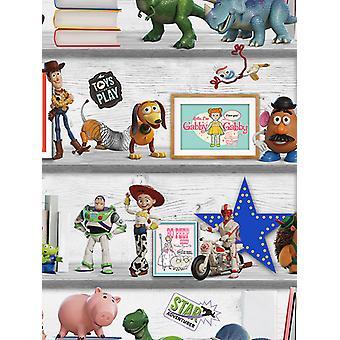 Disney Toy Story 4 Play Date Wallpaper Multi Graham et Brown 105828