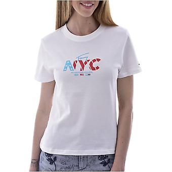 Tee Shirt Cotton Logo Nyc - Tommy Jeans