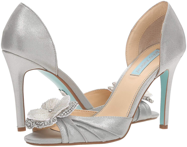 Blue przez kobiety Betsey Johnson's Sb-Emma Dress Sandal 3HD0p