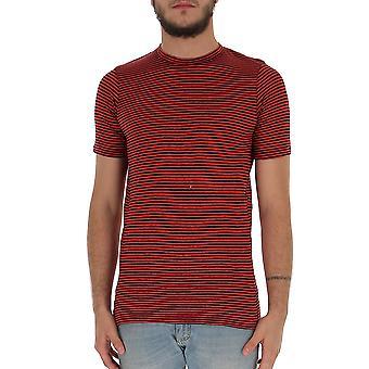 Isabel Marant Ts042900m001h70rd Men's Red Cotton T-shirt