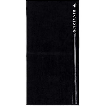 Quiksilver Linepack Beach Towel in Black