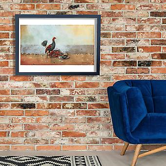 Winslow Homer - The Cock Fight Poster Print Giclee