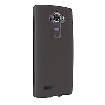 5 Pack -Verizon Silicone Case for LG G4 - Black (Matte Finish)