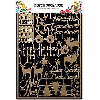 Dutch Doobadoo Dutch Paper Art Kraft - Christmas A5 479.002.012