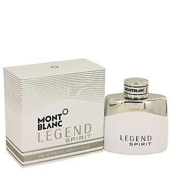 Montblanc Legend Spirit EDT av Mont Blanc 1.7 oz Eau De Toilette Spray