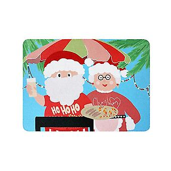 Kerstmis gerecycled rubber Placemat Muismat