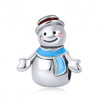 Sterling Silver Charm Mister Snowman - 5724
