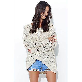 Beige makadamia sweaters