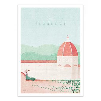 Art-Poster - Bezoek Florence - Henry Rivers 50 x 70 cm