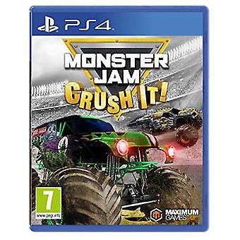 Monster Jam - Crush It (PS4) - New