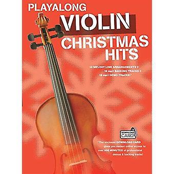 Playalong - Christmas Hits - Violin - 9781783056927 Book