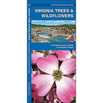 Virginia Bäume & Wildblumen - eine klappbare Pocket Guide to vertraut Plan