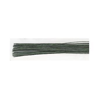 Culpitt mörkgrönt socker blomma florist tråd 20 gauge (0.9mm) pack 20