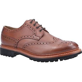 Cotswold men's quenington commando goodyear welt lace up shoe various colours 29257