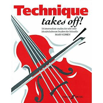 Technique Takes Off Cello by By composer Mary Cohen