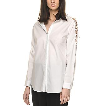 Glamorous Women's Shirt With Cross-Tie Details