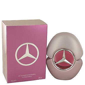 Mercedes Benz Woman Eau De Parfum Spray By Mercedes Benz 3 oz Eau De Parfum Spray