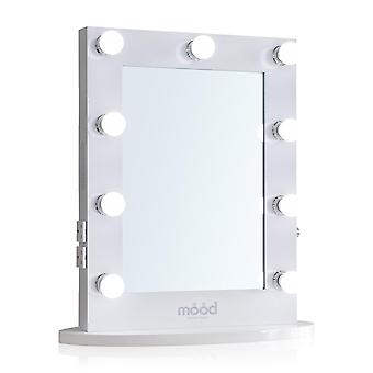 Hollywood Mirror 65 x 50cm with Bluetooth Speakers Dressing Table or Wall Mounted Vanity