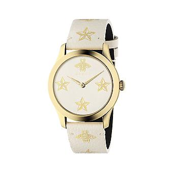 Gucci YA1264096 G-Timeless Ladies Watch - OffWhite