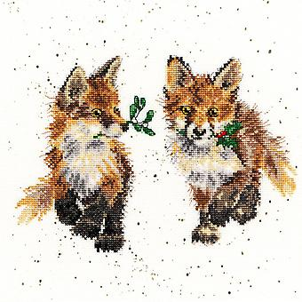 Bothy Threads Cross Stitch Kit - Glad Tidings