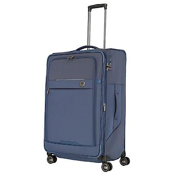 TITAN Prime Trolley L, 4 roues, 78 cm, 91 L, bleu