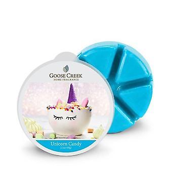 Goose Creek 2.1oz  Breakable Wax Melt Tart for Burners Unicorn Candy