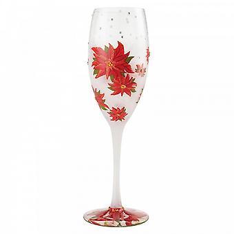 Lolita Poinsettias In The Snow Prosecco Cocktail Champagne Glass