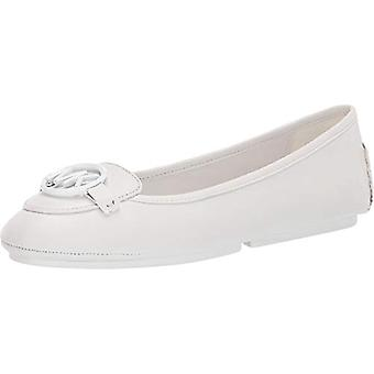 MICHAEL Michael Kors Lillie Moc Optic White 10