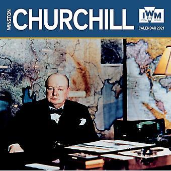 Imperial War Museum  Winston Churchill Wall Calendar 2021 Art Calendar by Created by Flame Tree Studio