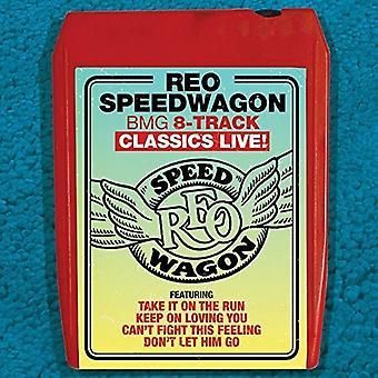 Reo Speedwagon - Bmg 8-Track Classics Live [CD] USA import