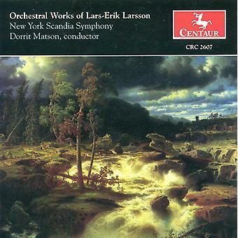 Lars-Erik Larsson - Orchestral Works of Lars-Erik Larsson [CD] USA import