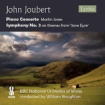 Joubert - Piano Concerto / Symphony 3 [CD] USA import