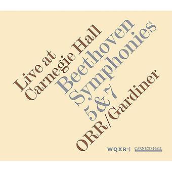 L.V. Beethoven - Beethoven: Symphonies Nos. 5 & 7 - Live at Carnegie Hall [CD] USA import