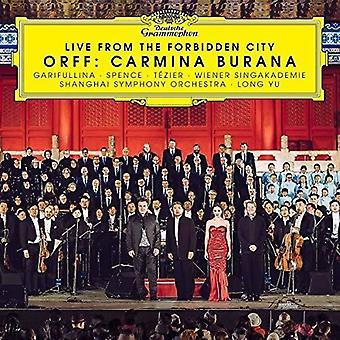 Live från den förbjudna staden - Orff: Carmina [CD] USA import