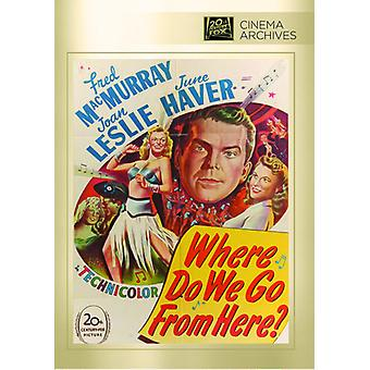 Where Do We Go From Here? [DVD] USA import