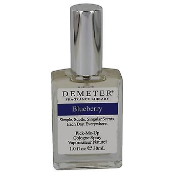 Demeter Blueberry Cologne Spray (unboxed) By Demeter 1 oz Cologne Spray