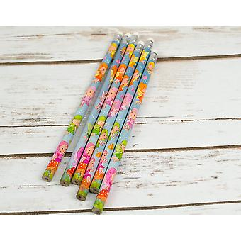 6 Fairy Pencils for Party Bags