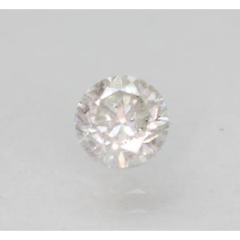 Certified 0.52 Carat G SI2 Round Brilliant Enhanced Natural Loose Diamond 4.83mm