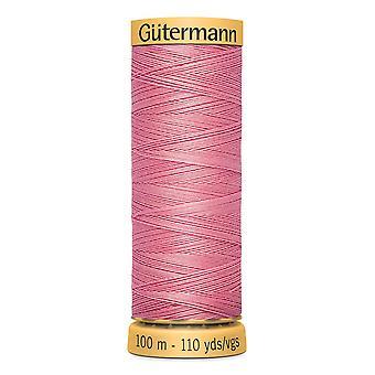 Gutermann 100% naturlig bomuldstråd 100m hånd- og maskinfarvekode - 5110