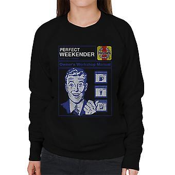 Haynes Perfect Weekender Workshop Manual Women's Sweatshirt