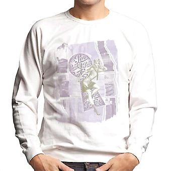 Pepsi Cola Retro Pin Up Montage Men's Sweatshirt