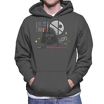 Star Wars Dark Lord Darth Vader Men's Hooded Sweatshirt
