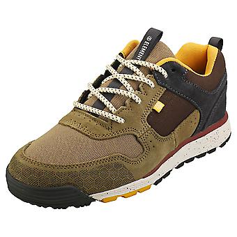 Element Backwoods Mens Fashion Trainers in Olive Brown