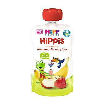 Organic Apple, Banana and Strawberry Drink 100 g
