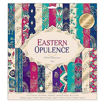 Papermania Eastern Opulence 12x12 Inch Paper Pad