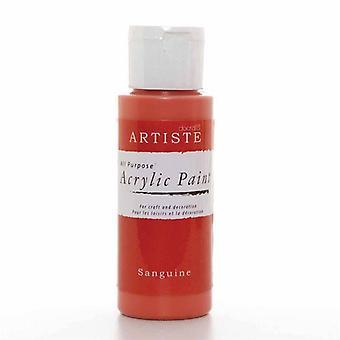 Docrafts Akryl Paint (2oz) - Sanguine (DOA 763215)